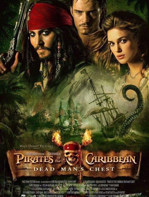 Piratas del Caribe: El cofre del hombre muerto – En el fin del mundo (Gore Verbinski, 2006-2007)