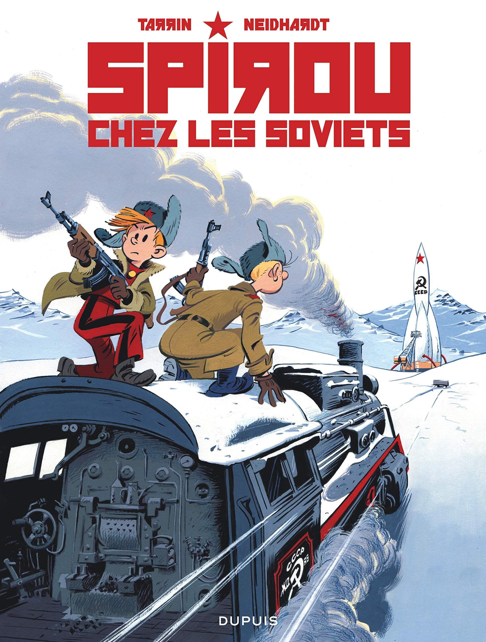 Spirou y los soviets (Tarrin & Neidhardt, 2020)